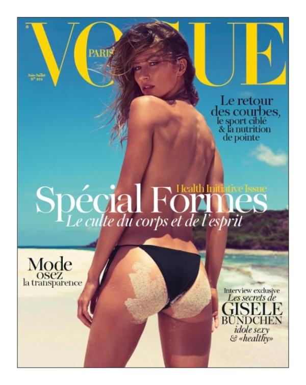 Vogue Paris June July 2012 Gisele Bündchen