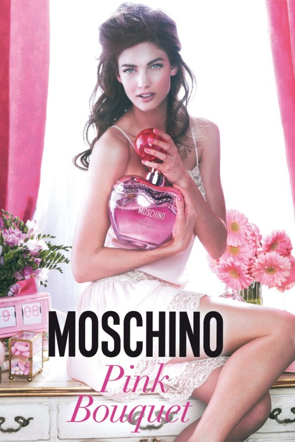 Moschino Pink Bouquet Campaign Kendra Spears by Giampaolo Sgura